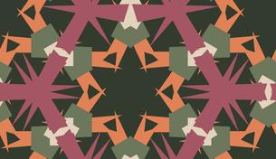 Abstract Kaleidoscope Backgroundの素材 [FYI00750583]