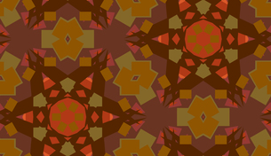 Background with Brown Polygon Shapesの素材 [FYI00750593]