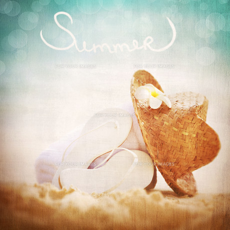 Summer vacation conceptの素材 [FYI00750595]