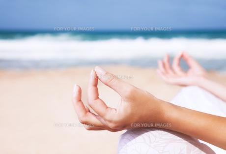 Yoga and zen balance conceptの素材 [FYI00750604]