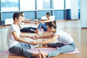 Pair exerciseの素材 [FYI00751352]