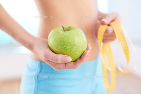 Apple dietの写真素材 [FYI00752132]