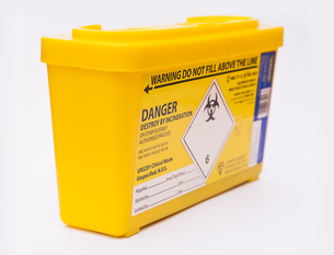 Medical sharps waste containerの素材 [FYI00752233]