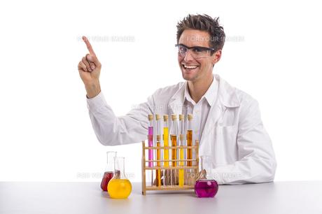 chemist in the labの写真素材 [FYI00752247]