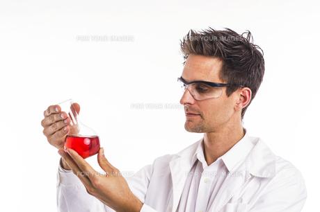 chemist in the labの写真素材 [FYI00752260]