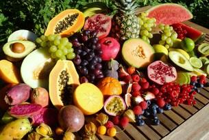 tropical fruitsの写真素材 [FYI00752304]