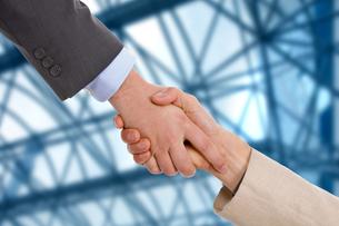 handshakeの素材 [FYI00752512]