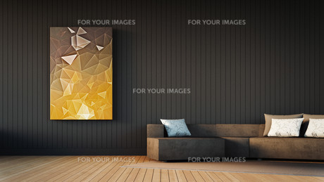 The modern interior of homeの写真素材 [FYI00752572]