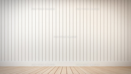 White wall with vertical stripesの写真素材 [FYI00752582]