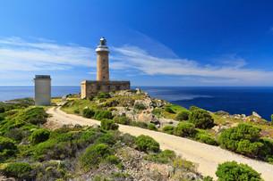 Capo Sandalo - lighthouseの写真素材 [FYI00753001]