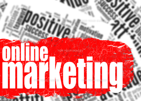 Word cloud online marketingの写真素材 [FYI00753202]