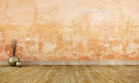 Grunge empty roomの写真素材 [FYI00753464]