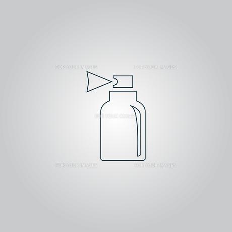 Spray iconの写真素材 [FYI00753470]