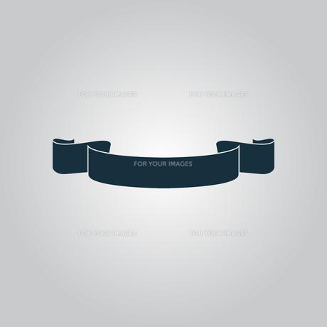 Simple ribbonの写真素材 [FYI00753495]
