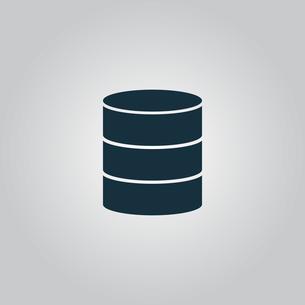 Database iconの写真素材 [FYI00753532]