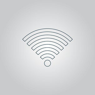 Wireless Network Symbolの写真素材 [FYI00753614]