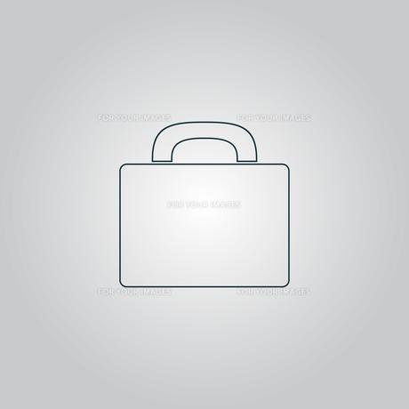 Suitcase iconの写真素材 [FYI00753633]