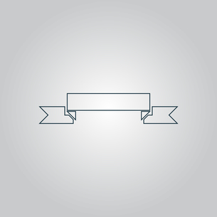 Banner Iconの写真素材 [FYI00753657]