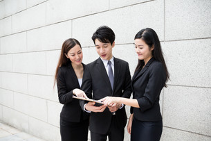 Group of business people work togetherの写真素材 [FYI00753899]
