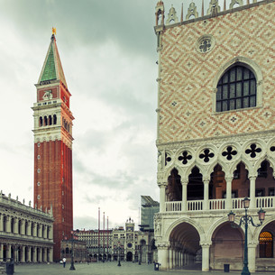 San Marco square in Veniceの写真素材 [FYI00753966]