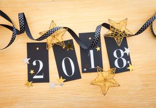 2018 glitter decorationの素材 [FYI00754120]