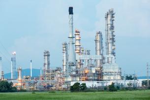 Oil Refinery Factoryの写真素材 [FYI00754190]