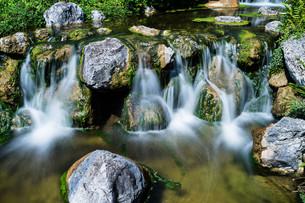 waterfall mountain streamの写真素材 [FYI00754336]