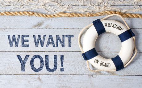 We want YOU - Welcome on Boardの写真素材 [FYI00754498]