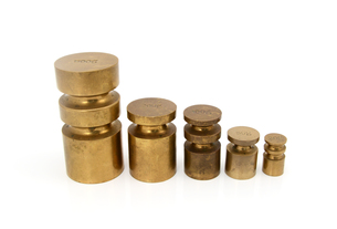 Brass metric weightsの写真素材 [FYI00754608]