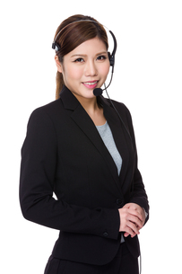 Customer services operatorの写真素材 [FYI00755226]