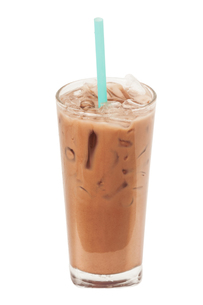 Ice milk chocolate, Isolated, clipping pathの素材 [FYI00755517]
