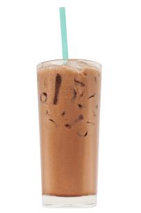 Ice milk chocolate, Isolated, clipping pathの素材 [FYI00755520]