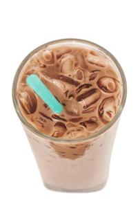 Ice milk chocolate, Isolated, clipping pathの素材 [FYI00755523]