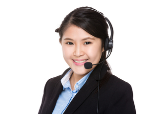 Customer services officerの写真素材 [FYI00755782]