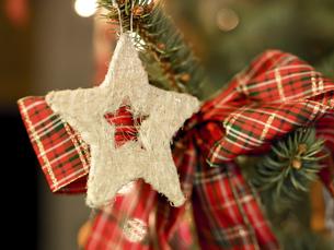 Decoration star Christmas Marketの写真素材 [FYI00755899]