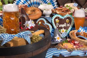 bavaria and oktoberfestの写真素材 [FYI00755984]