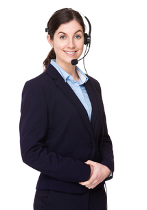 Customer services officerの写真素材 [FYI00756653]