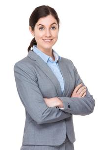 Caucasian businesswomanの写真素材 [FYI00756694]