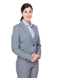 Caucasian businesswoman portraitの写真素材 [FYI00756695]