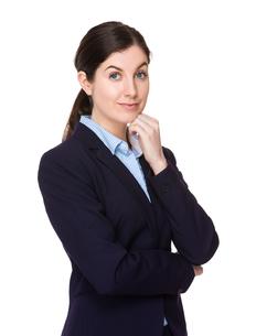 Caucasian businesswomanの写真素材 [FYI00756697]