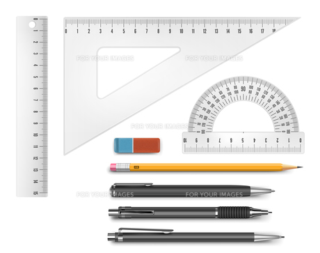Education supply illustrationの素材 [FYI00756927]