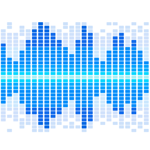 Equalizer on abstract technology backgroundの写真素材 [FYI00756947]