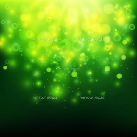 Green bokeh light backgroundの素材 [FYI00756960]