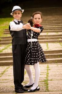 Let's dance!の写真素材 [FYI00756967]