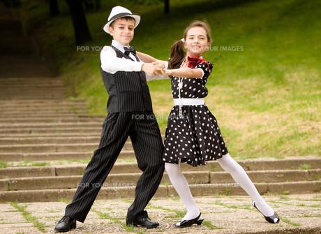 Let's dance!の写真素材 [FYI00756983]