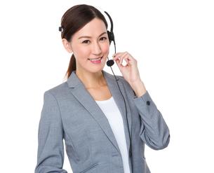 Customer services executiveの写真素材 [FYI00757294]