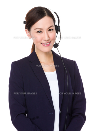 Customer services operatorの写真素材 [FYI00757329]