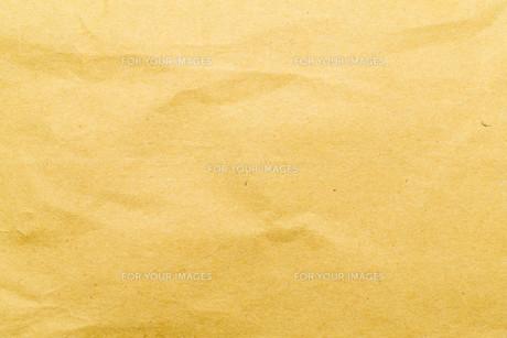 Wrinkle brown bag textureの素材 [FYI00757497]