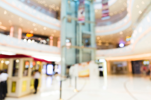 Blur store with bokeh backgroundの写真素材 [FYI00757507]
