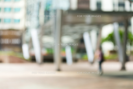 Bokeh view of business district backgroundの写真素材 [FYI00757517]